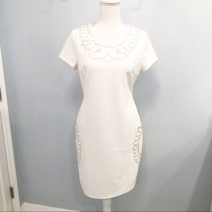 NWT Esley white cocktail dress